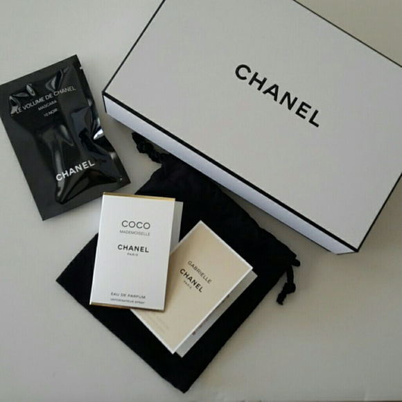 7c25ac8a266c65 CHANEL Other | Small Keepsake Gift Box With Samples | Poshmark